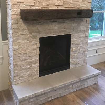 Fireplaces including Hearth