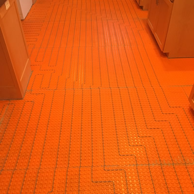 In Floor Heating – Electric & Hydronic