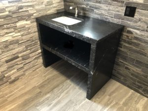 Servais Tile and Stone Stone Vanity